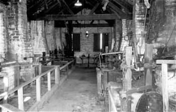 Chain shop interior