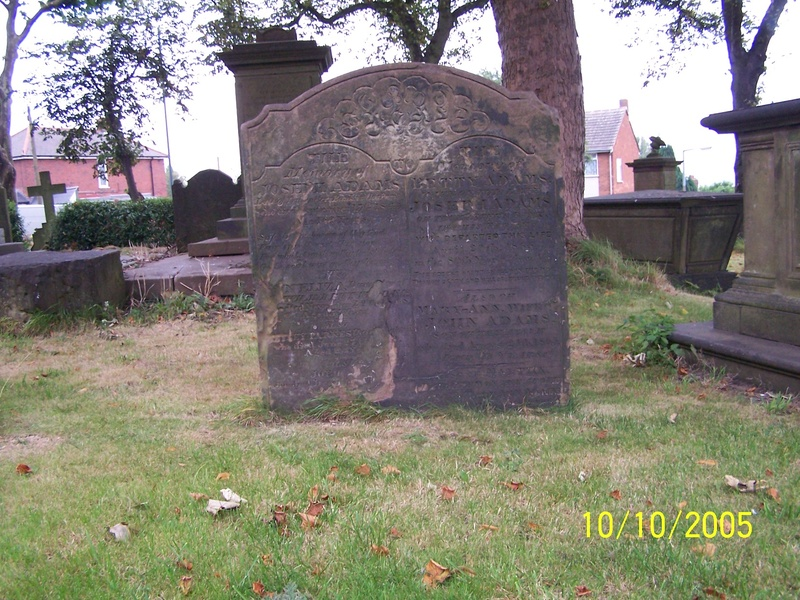 Grave Rowley church