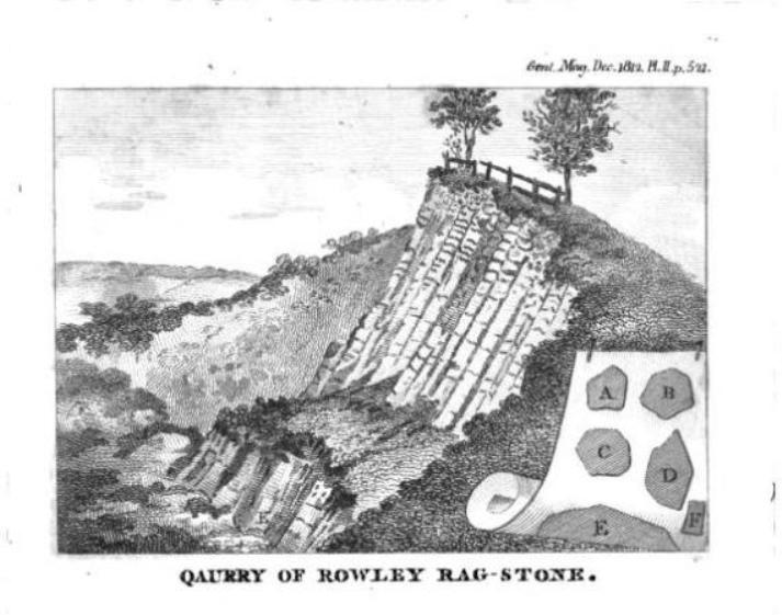 Quarry on Rowley Hills